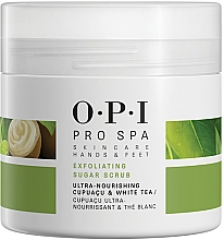Парфюмерия и Козметика Захарен скраб за крака - O.P.I ProSpa Skin Care Hands&Feet Exfoliating Sugar Scrub
