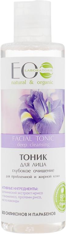 "Тоник за лице ""Дълбоко почистване"" - ECO Laboratorie Facial Tonic"