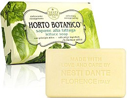 "Парфюмерия и Козметика Сапун ""Маруля"" - Nesti Dante Horto Botanico Lattuga Soap"
