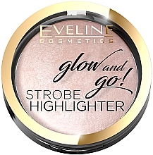 Парфюмерия и Козметика Хайлайтър за лице - Eveline Cosmetics Glow And Go Strobe Highlighter