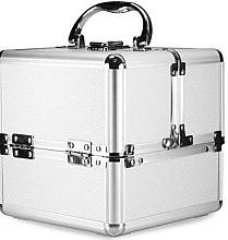 Парфюмерия и Козметика Сребърен козметичен куфар - NeoNail Professional