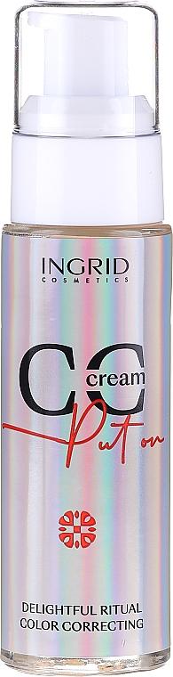 Ingrid Cosmetics CC Cream Put On Delightful Ritual Color Correcting - CC крем за лице