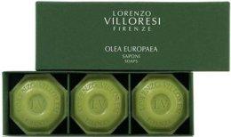 Парфюми, Парфюмерия, козметика Комплект - Lorenzo Villoresi Olea Europaea (soap/3x100g)