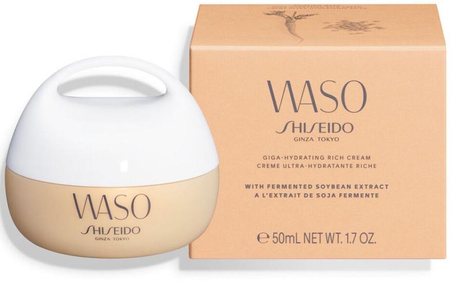 Shiseido Waso Giga-Hydrating Rich Cream - Крем за лице..