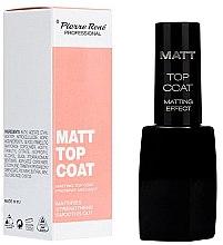 Парфюмерия и Козметика Матиращ топ лак - Pierre Rene Matt Top Coat Matting Effect