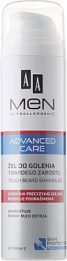 Гел за бръснене - AA Men Advanced Care Tough Beard Shaving Gel — снимка N1