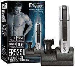 Парфюмерия и Козметика Електрически епилатор за лице и тяло ER5250 - Id Italian Electric Hair Remover Body&Care