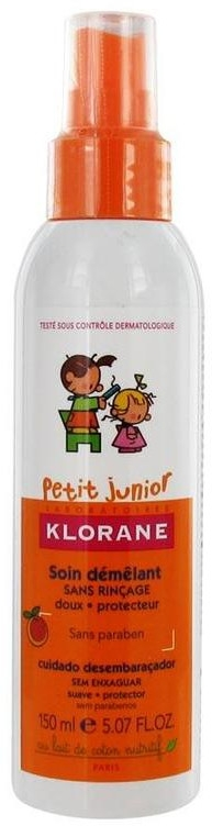 Спрей за лесно разресване - Klorane Petit Junior No Rinse Untangling Spray — снимка N1