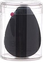 Парфюмерия и Козметика Гъба за грим, черна - Ibra Makeup Beauty Blender