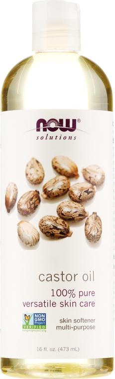 Рициново масло, за кожа - Now Foods Solution Castor Oil