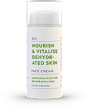 Парфюмерия и Козметика Подхранващ и възстановяващ крем за лице - You & Oil Nourish & Vitalise Dehydrated Skin Face Cream