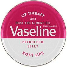 "Парфюмерия и Козметика Балсам за устни ""Роза"" - Vaseline Lip Therapy Rosy Lips Balm"