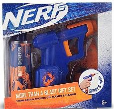 Парфюмерия и Козметика Комплект за деца - EP Line Nerf Blaster Set (душ гел/200ml + играчка)