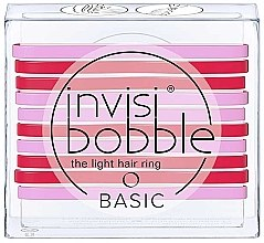 Парфюмерия и Козметика Комплект ластици за коса - Invisibobble Basic Jelly Twist