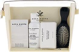 Парфюмерия и Козметика Комплект - Acca Kappa (парф. вода/30ml + лосион за тяло/100ml + сапун50g + четка за коса)
