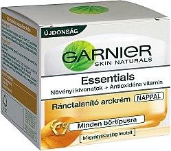 Парфюми, Парфюмерия, козметика Крем за лице - Garnier Multi-Active Day Cream Anti-Wrinkle Essentials 35+