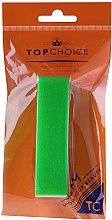 Парфюмерия и Козметика Полираща пила 120/150, 74813, зелена - Top Choice Colours Nail Block