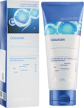 Парфюмерия и Козметика Пилинг гел за лице с колаген - FarmStay Collagen Water Full Moist Peeling Gel