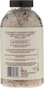 Соли за вана с аромат на годжи бери и масло от шеа - Nature de Marseille — снимка N2