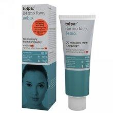 Парфюми, Парфюмерия, козметика СС крем - Tolpa Dermo Sebio Face CC Cream SPF 30