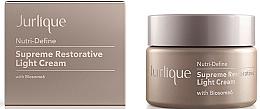 Парфюмерия и Козметика Лек възстановяващ антистареещ крем за лице - Jurlique Nutri-Define Supreme Restorative Light Cream