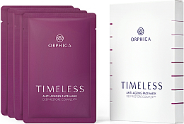 Парфюми, Парфюмерия, козметика Комплект маски за лице против стареене - Orphica Timeless Anti-Ageing Face Mask