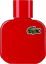Парфюмерия и Козметика Lacoste Eau de L.12.12 Rouge-Energetic - Тоалетна вода
