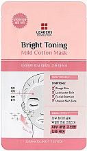Парфюми, Парфюмерия, козметика Изсветляваща маска за лице - Leaders Ex Solution Bright Toning Mild Cotton Mask