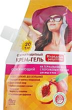 Парфюмерия и Козметика Слънцезащитен крем-гел за лице и тяло - Fito Козметик Народни Рецепти