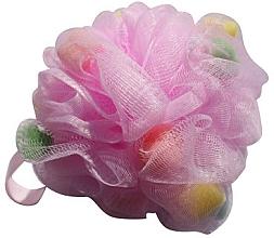 Парфюмерия и Козметика Гъба за баня, цветна - Gabriella Salvete Body Care Mesh Massage Bath Sponge