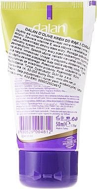 Интензивен крем за ръце и тяло с маслиново масло - Dalan D'Olive Intensive Hand & Body Cream — снимка N2