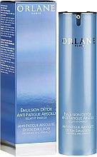 Парфюмерия и Козметика Детоксикираща емулсия за лице - Orlane Anti-Fatigue Absolute Detox Emulsion