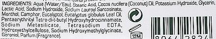 Крем за бръснене с екстракт от евкалипт и ментол - Proraso Green Line Refreshing Shaving Cream (мини) — снимка N3