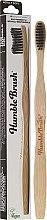 Парфюми, Парфюмерия, козметика Бамбукова четка за зъби, черна - Humble Brush