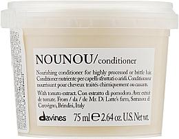 Парфюмерия и Козметика Подхранващ балсам за уплътняване на крехка и увредена коса - Davines Nourishing Nounou Conditioner