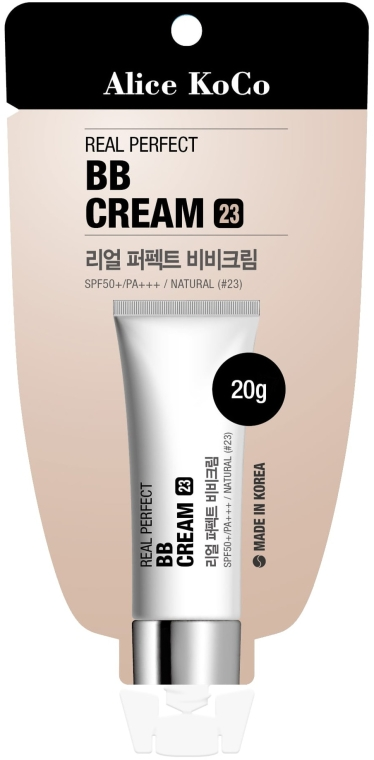 BB-крем за лице - Alice Koco Real Perfect BB Cream