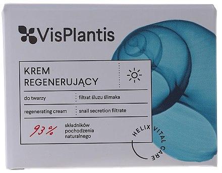Дневен подмладяващ крем с екстракт от охлюв - Vis Plantis Helix Vital Care Rejuvenating Day Cream