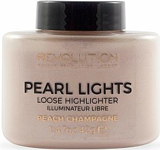 Парфюми, Парфюмерия, козметика Прахообразен хайлайтър за лице - Makeup Revolution Pearl Lights Loose Highlighter