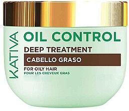 Парфюмерия и Козметика Маска за мазна коса - Kativa Oil Control Deep Treatment