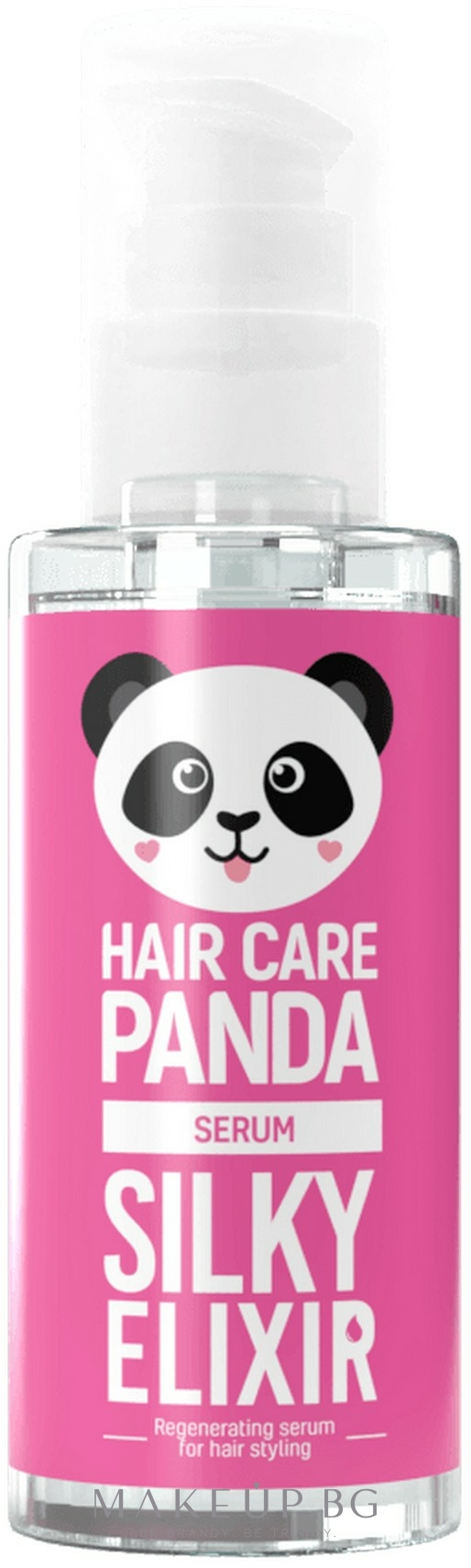 Стилизиращ и хидратиращ серум за коса - Noble Health Panda Silky Elixir Styling Serum — снимка 50 ml