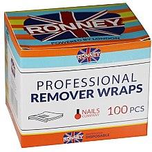 Парфюмерия и Козметика Фолио за премахване на хибриден лак - Ronney Professional Remover Wraps