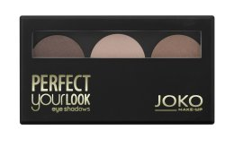 Парфюми, Парфюмерия, козметика Тройни сенки за очи - Joko Perfect Your Look Trio Eye Shadows