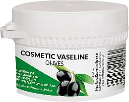 Парфюмерия и Козметика Козметичен вазелин за лице и устни с аромат на маслина - Pasmedic Cosmetic Vaseline Olives