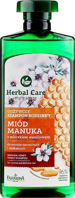 Шампоан за коса - Farmona Herbal Care Manuka Honey Family Shampoo