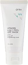 Парфюмерия и Козметика Ексфолираща маска за лице с витамин A и C - Ofra Vitamin A & C Peel Off Mask