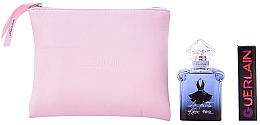 Парфюмерия и Козметика Guerlain La Petite Robe Noire Intense - Комплект (парф. вода/50ml + червило/068 + несесер)