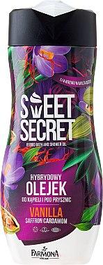 "Масло за душ и вана ""Ванилия"" - Farmona Sweet Secret Vanilla Hybrid Bath And Shower Oil"