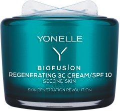 Парфюмерия и Козметика Регенериращ крем за лице - Yonelle Biofusion Regenerating 3C Cream/SPF10