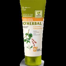 Парфюмерия и Козметика Овлажняващ крем за ръце с екстракт от китайски лимонник - O'Herbal Moisturizing Hand Cream With Schisandra Extract