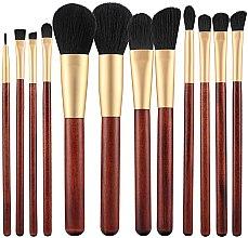 Парфюми, Парфюмерия, козметика Комплект четки за грим, 12 бр - Tools For Beauty